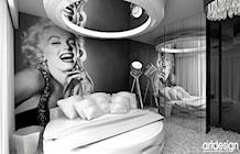 projektowanie luksusowej sypialni - zdjęcie od ARTDESIGN architektura wnętrz