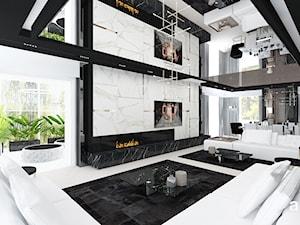 luksusowe wnętrze domu - salon - zdjęcie od ARTDESIGN architektura wnętrz