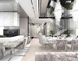 strafa dzienna z jadalnią i kuchnią - zdjęcie od ARTDESIGN architektura wnętrz