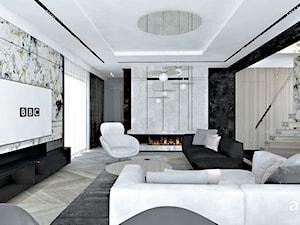 salon w stylu nowoczesnym - zdjęcie od ARTDESIGN architektura wnętrz
