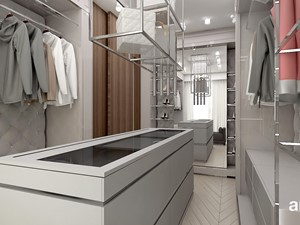garderoba z wygodną wyspą - zdjęcie od ARTDESIGN architektura wnętrz