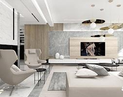 PERFECT MATCH | I | Wnętrza domu - Duży salon, styl nowoczesny - zdjęcie od ARTDESIGN architektura wnętrz