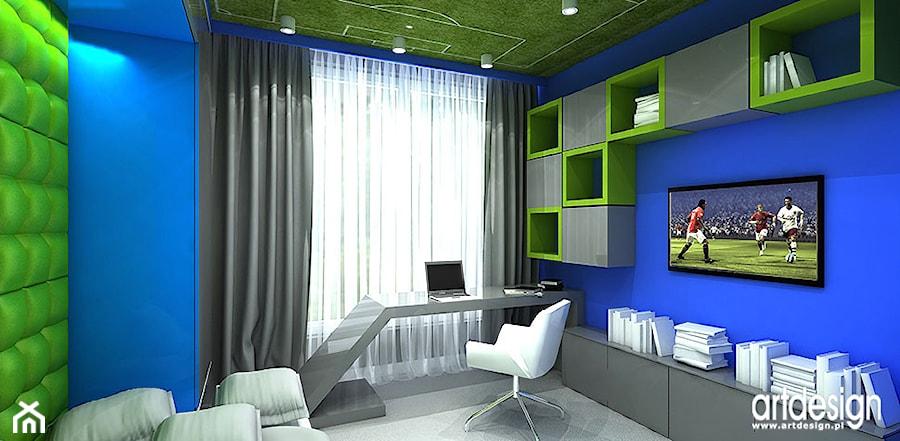 projekt pokoju dla chlopca zdj cie od artdesign architektura wn trz homebook. Black Bedroom Furniture Sets. Home Design Ideas