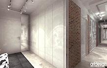 korytarz w apartamencie - projekty - zdjęcie od ARTDESIGN architektura wnętrz