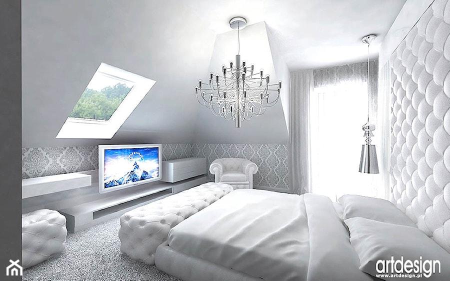 projekt sypialni - zdjęcie od ARTDESIGN architektura wnętrz