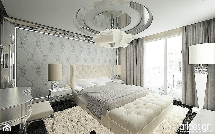 projekt eleganckiej sypialni - zdjęcie od ARTDESIGN architektura wnętrz