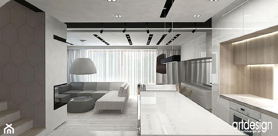 bia�a kuchnia projekt wnętrza zdjęcie od artdesign