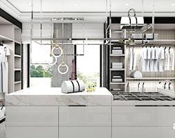 IT IS LIKE OXYGEN | II | Wnętrza domu - Duża garderoba z oknem oddzielne pomieszczenie, styl nowoczesny - zdjęcie od ARTDESIGN architektura wnętrz