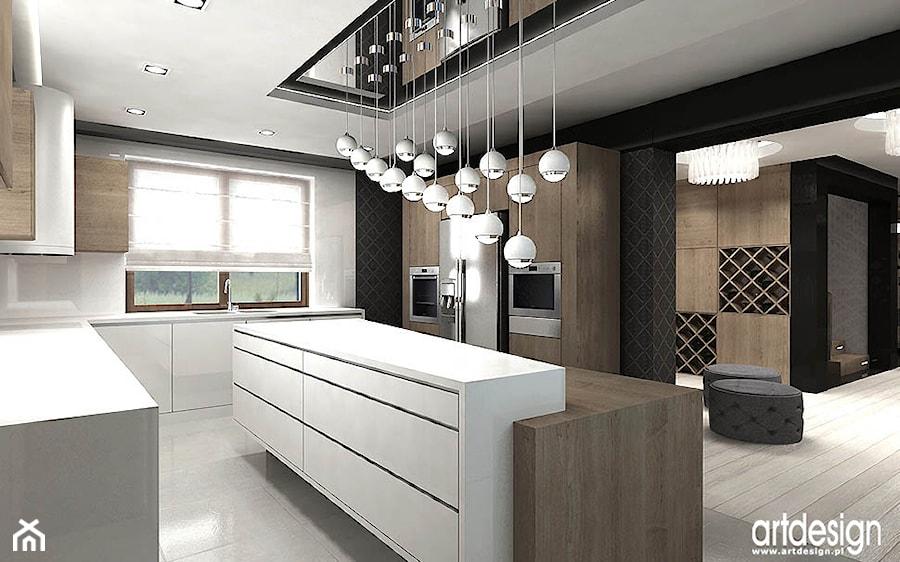 projekty kuchni - zdjęcie od ARTDESIGN architektura wnętrz