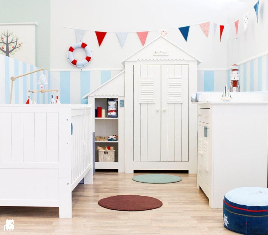 Pokój dziecka w stylu marynarskim - zdjęcie od MUZPONY