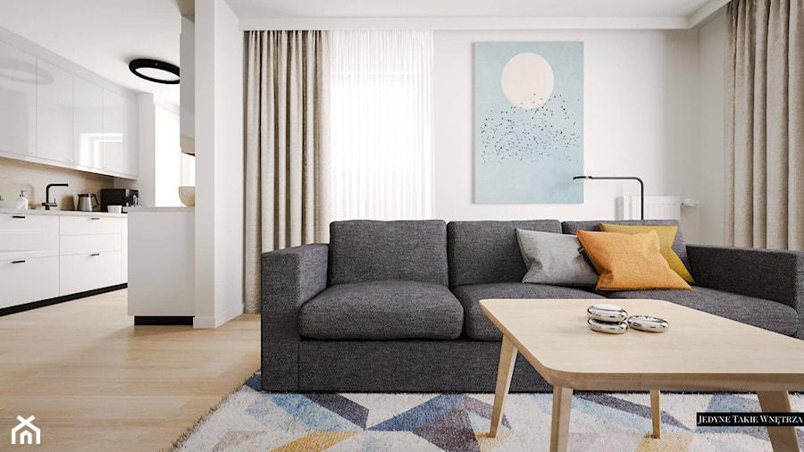 Przytulne, pastelowe wnętrze w stylu Ikea - zdjęcie od JedyneTakieWnętrza