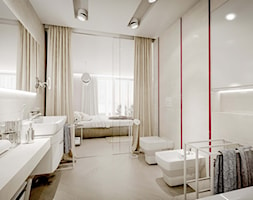 Sypialnia Z łazienką I Garderobą Projekt Wnętrza
