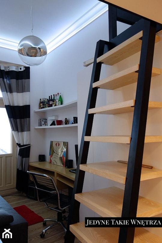 Mini kawalerka - Salon, styl klasyczny - zdjęcie od JedyneTakieWnętrza