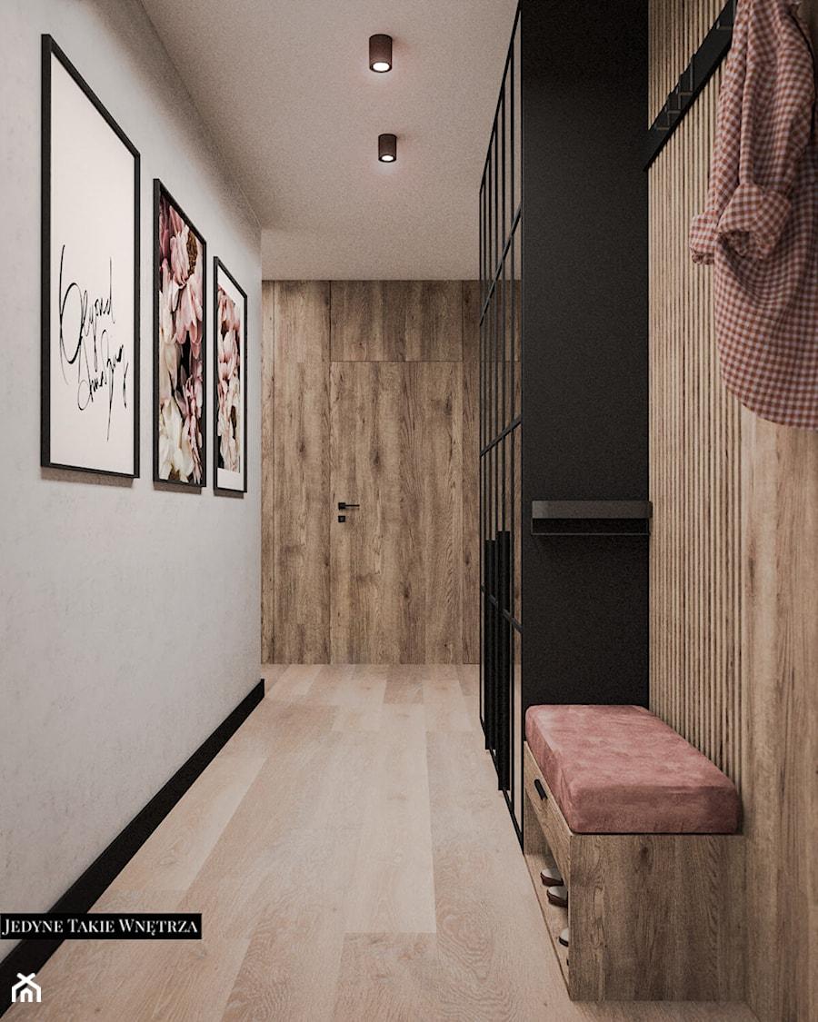 Beton&drewno&róż&loft - zdjęcie od JedyneTakieWnętrza