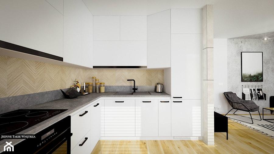 Jodełka w kuchni - zdjęcie od JedyneTakieWnętrza