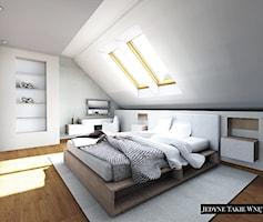 Sypialnia styl Minimalistyczny - zdjęcie od JedyneTakieWnętrza
