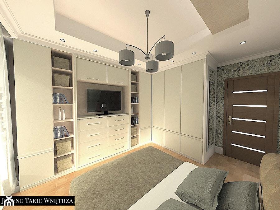 Zabudowa garderoby w sypialni. - zdjęcie od JedyneTakieWnętrza