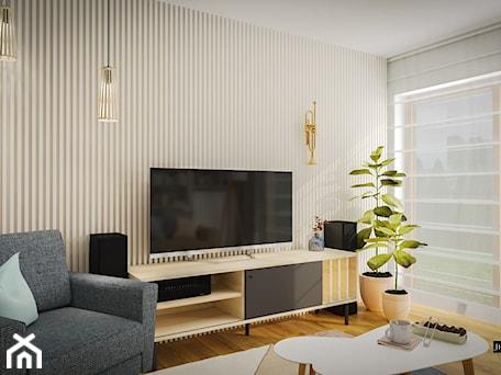 Aranżacje wnętrz - Salon: Skandynawski retro mix - Salon, styl skandynawski - JedyneTakieWnętrza. Przeglądaj, dodawaj i zapisuj najlepsze zdjęcia, pomysły i inspiracje designerskie. W bazie mamy już prawie milion fotografii!