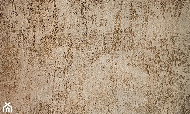 tynk dekoracyjny na ścianie w przedpokoju
