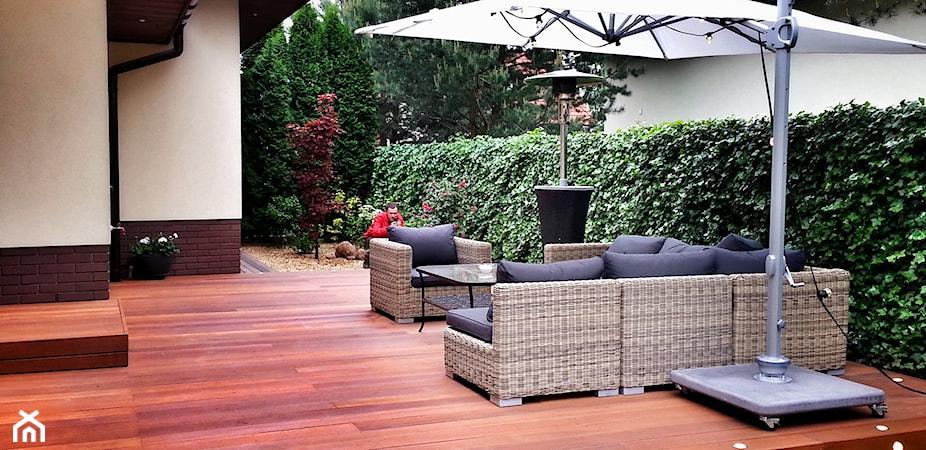 Taras drewniany: budowa tarasu z drewna