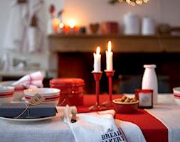 Winter 2014 - Mała zamknięta szara jadalnia jako osobne pomieszczenie - zdjęcie od H&M Home