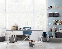 katalog 2015 - Małe niebieskie biuro pracownia, styl skandynawski - zdjęcie od H&M Home