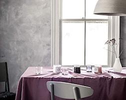 KOLEKCJA BASIC - Mała zamknięta szara jadalnia jako osobne pomieszczenie - zdjęcie od H&M Home