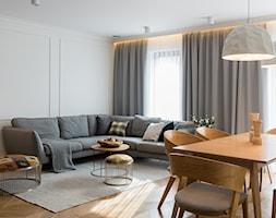 Dom w Tychach - Salon - zdjęcie od Superpozycja Architekci Dominika Trzcińska - Homebook