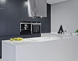 Mieszkanie w Katowicach_70m2 - Kuchnia, styl minimalistyczny - zdjęcie od Superpozycja Architekci Dominika Trzcińska - Homebook