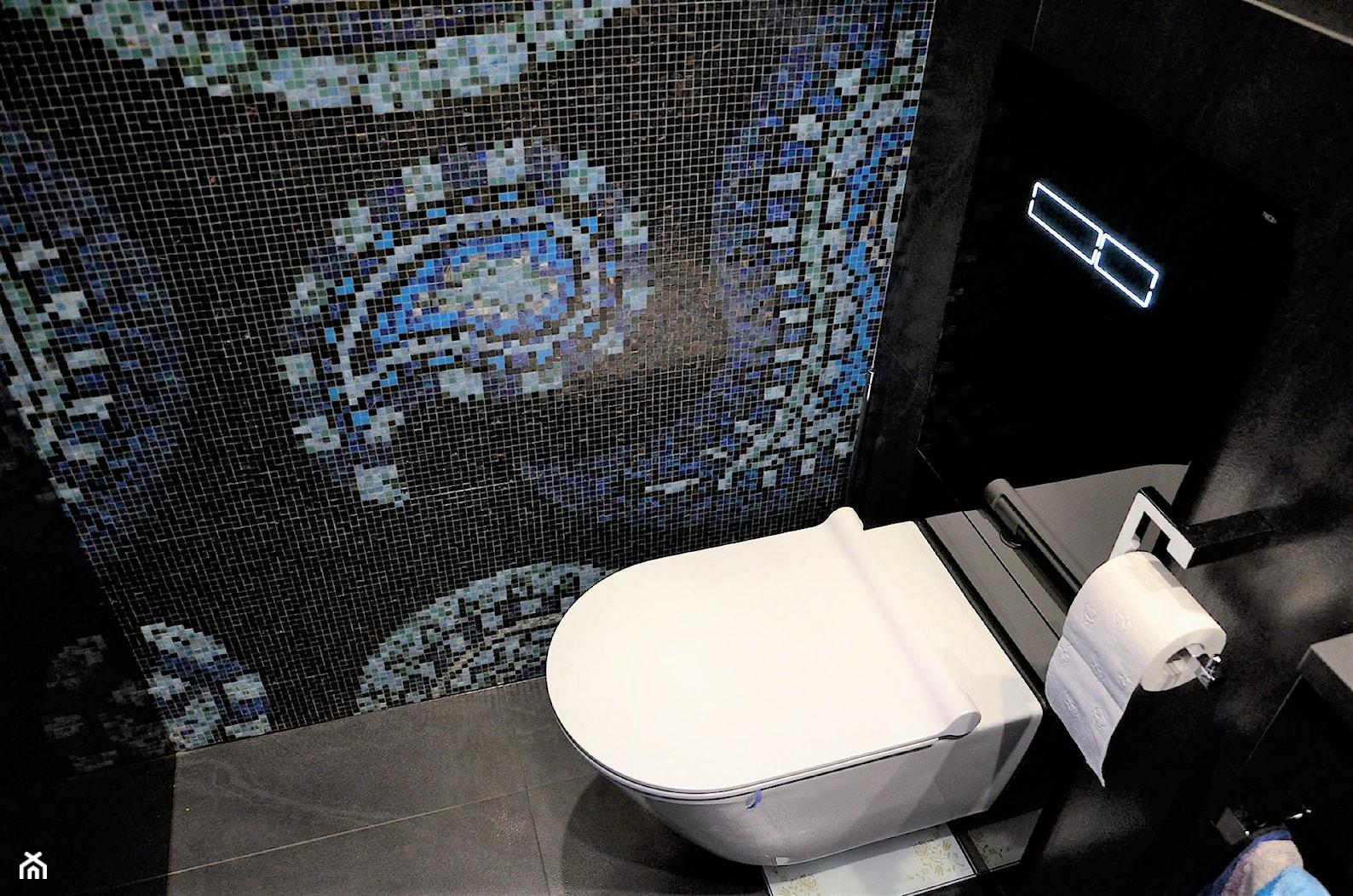 Penthouse Wilanów - Mała łazienka - zdjęcie od BAUART STUDIO Pracownia Architektury - Homebook