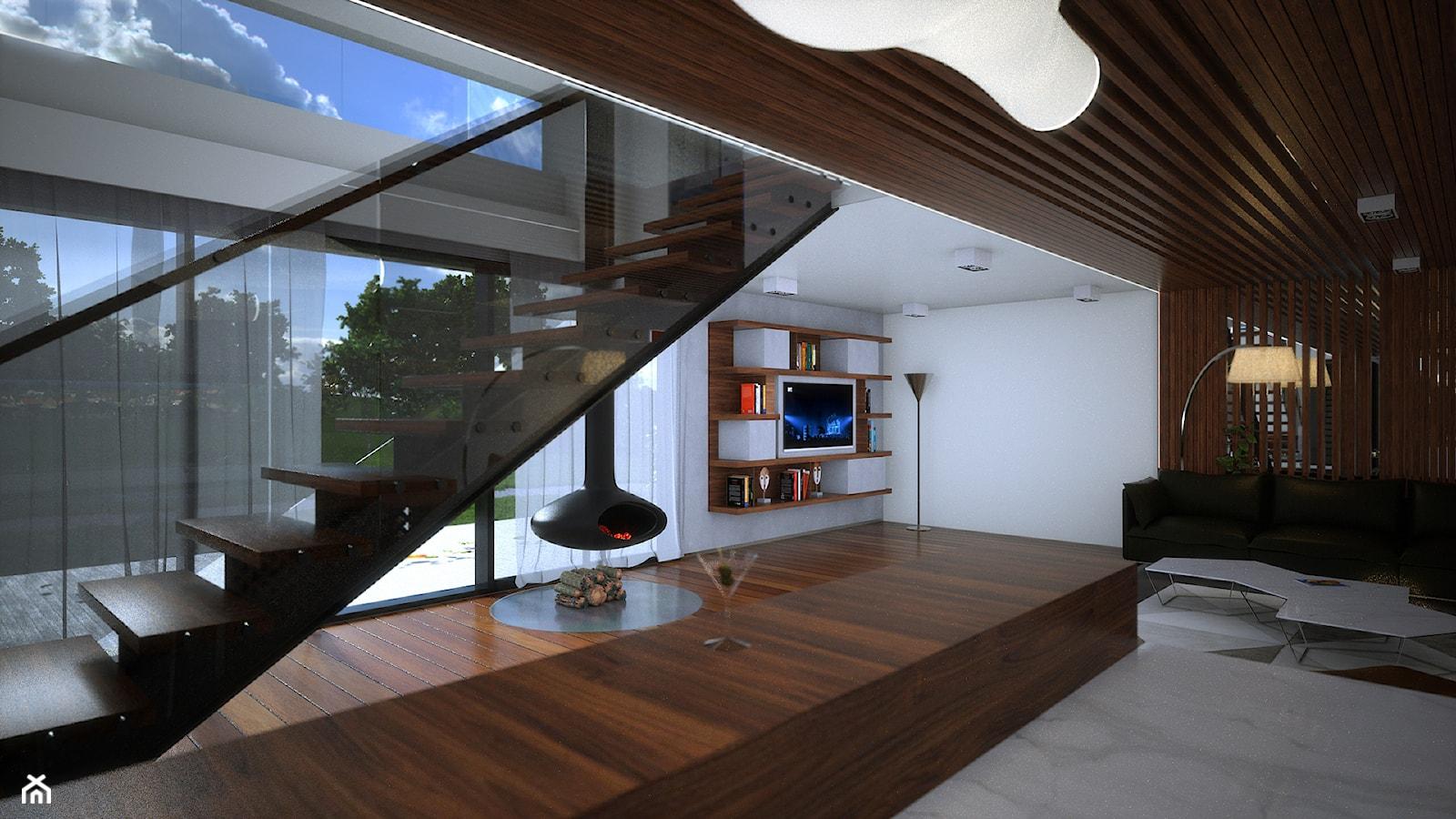 Wallhouse - Schody - zdjęcie od BAUART STUDIO Pracownia Architektury - Homebook