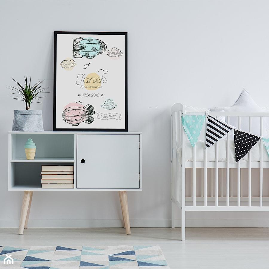 Aranżacje wnętrz - Pokój dziecka: Plakat metryczka chłopięca REDRO - REDRO. Przeglądaj, dodawaj i zapisuj najlepsze zdjęcia, pomysły i inspiracje designerskie. W bazie mamy już prawie milion fotografii!