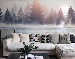 Fototapeta las w porannym słońcu - zdjęcie od REDRO - Homebook