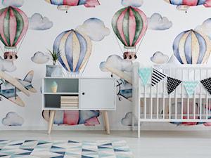 Fototapeta malowane baloniki - zdjęcie od REDRO