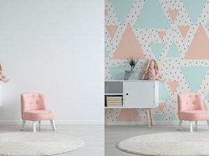 Metamorfoza pokoju dziecka - pastelowa geometria w miejsce nudnego minimalizmu - zdjęcie od REDRO