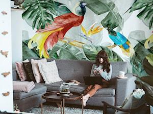 Imitacja dżungli w mieszkaniu