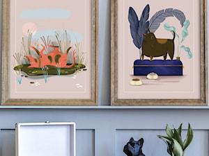 Plakaty ze zwierzakami na rzecz Fundacji Judyta