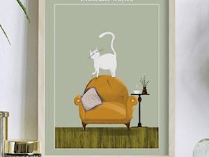 Kolekcja zwierzęcych plakatów