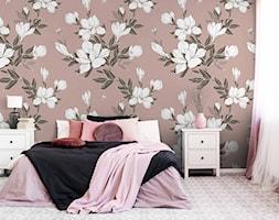 Tapeta białe magnolie na gałązkach - zdjęcie od REDRO - Homebook