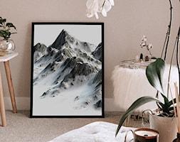 Plakat górskie szczyty - zdjęcie od REDRO - Homebook