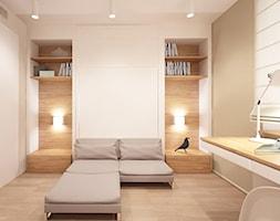 mieszkanie prywatne, ul. Książęca, Warszawa - Biuro, styl nowoczesny - zdjęcie od Mastermania manufaktura wnętrz
