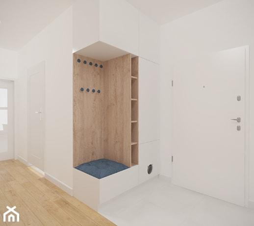 Bardzo dobry białe szafy do przedpokoju - pomysły, inspiracje z homebook SZ53
