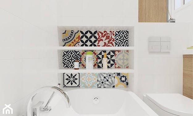 łazienka w stylu scandi