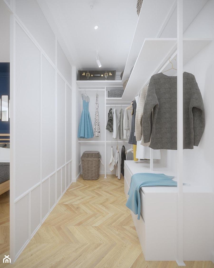 Aranżacje wnętrz - Garderoba: Mokotów - 55 m.² - Garderoba, styl nowoczesny - Studio Monocco. Przeglądaj, dodawaj i zapisuj najlepsze zdjęcia, pomysły i inspiracje designerskie. W bazie mamy już prawie milion fotografii!