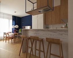 Kuchnia z jadalnią. - zdjęcie od Studio Monocco