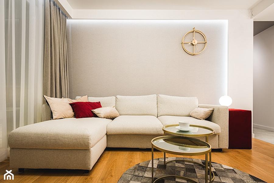 MARBLE ELEGANCE - Salon, styl nowoczesny - zdjęcie od INDEZZO