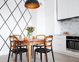 mieszkanie w Wilanowie - projekt zrealizowany dla programu TV Dekoratornia - zdjęcie od bemydesign
