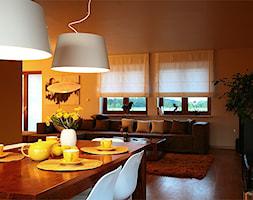dom w Żabiej Woli - projekt zrealizowany dla programu TV Dekoratornia - zdjęcie od bemydesign
