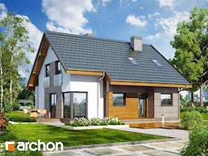 Projekt domu ARCHON+ Dom w wisteriach 2 (W)