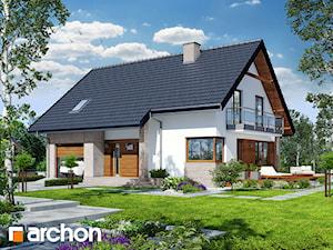 Projekt domu ARCHON+ Dom w aurorach